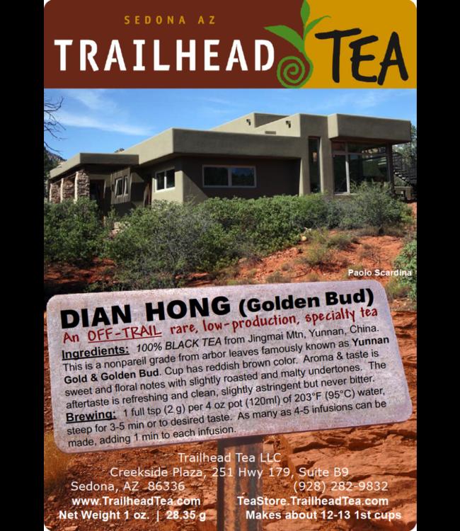 Off-Trail-Rare Golden Bud Dian Hong, Nonpareil Yunnan Gold (Off-Trail Black)