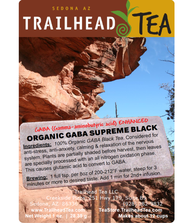 Tea from China GABA Organic Supreme Grade Black