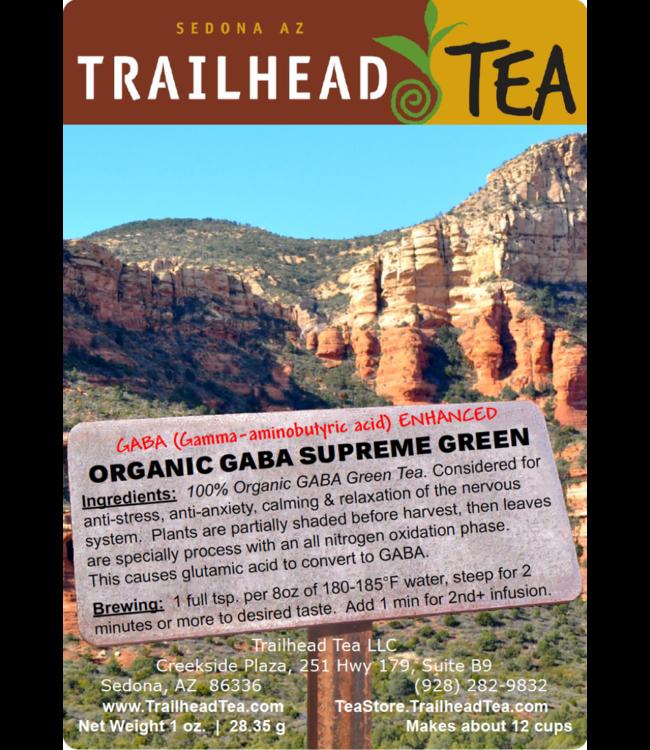Tea from China GABA Organic Supreme Grade Green