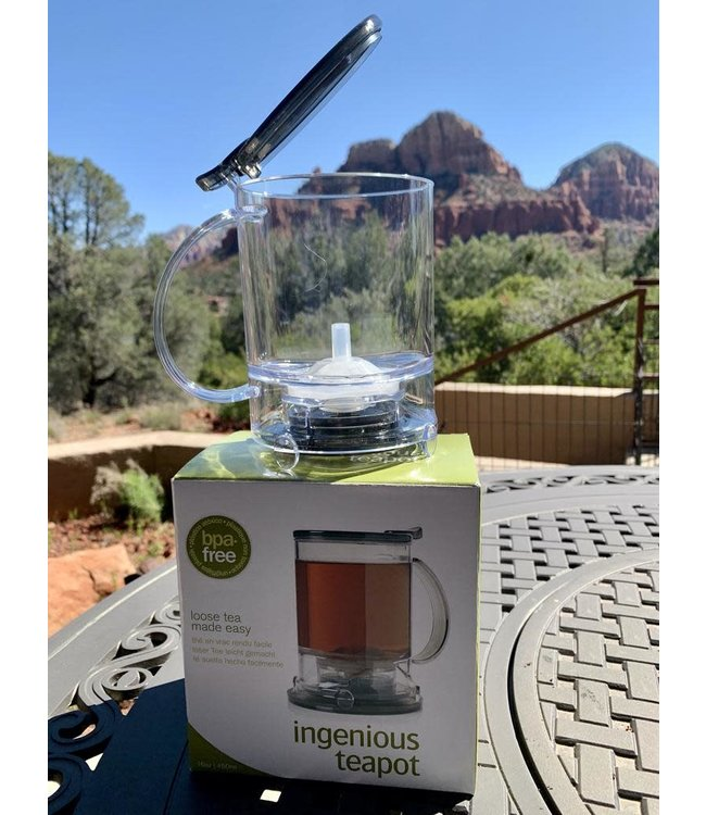 Teaware Trailhead GraviTEA Brewer, 2-Cup (16oz)