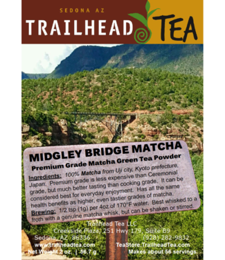 Tea from Japan Midgley Bridge Matcha (Uji Premium Culinary Grade)