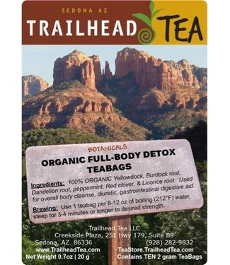 Botanical Botanical Organic Full-Body Detox