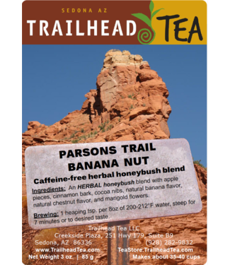 Herbal Blends Parsons Trail Herbal Banana Nut