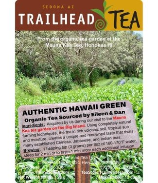 Tea from Hawaii Genuine Hawaii Organic Green Tea (MK)