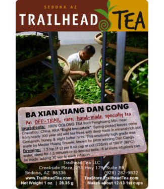 Off-Trail-Rare Ba Xian Xiang, Eight Immortals Phoenix Dan Cong Oolong (Off-Trail Oolong)