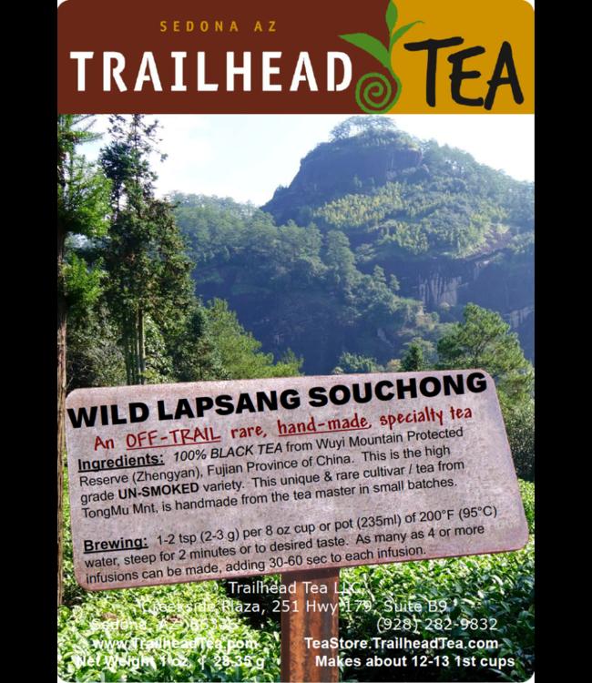 Off-Trail-Rare Wild Lapsang Souchong Unsmoked Tongmu Mtn