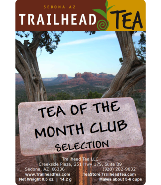 Tea from China Tea-Of-The-Month is a variable selection, offered for only $3, to any web order over $40