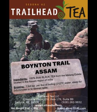 Tea from India Boynton Trail Assam