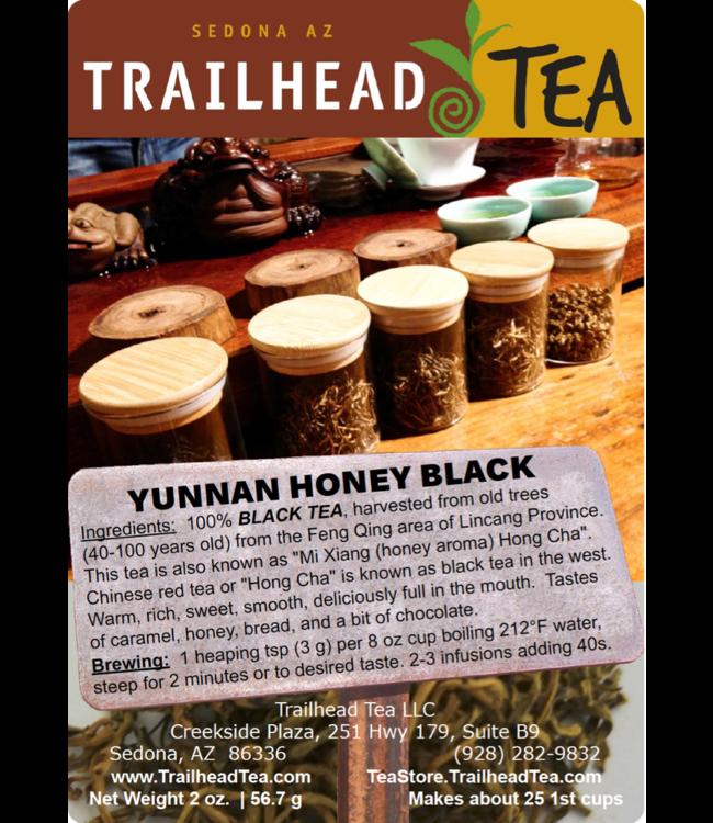 Tea from China Mi Xiang Hong Cha, Yunnan Honey Black Tea
