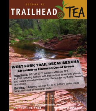 Tea from Japan West Fork Trail Decaf Sencha Strawberry