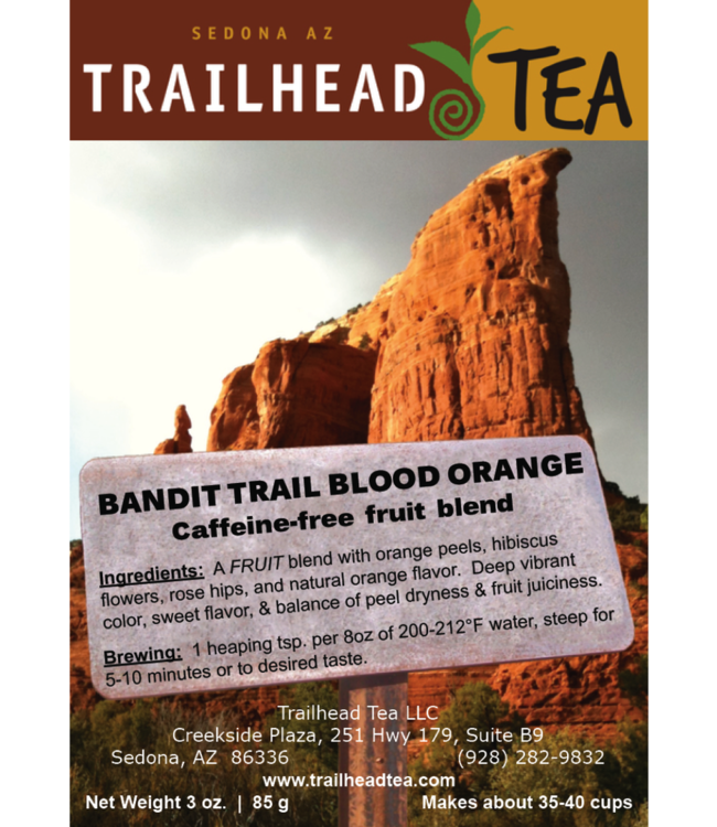Herbal Blends Bandit Trail Blood Orange