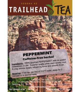 Herbal Blends Trailhead Peppermint