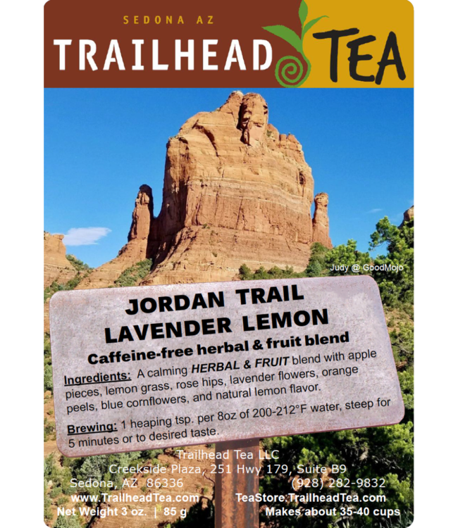 Herbal Blends Jordan Trail Lavender Lemon