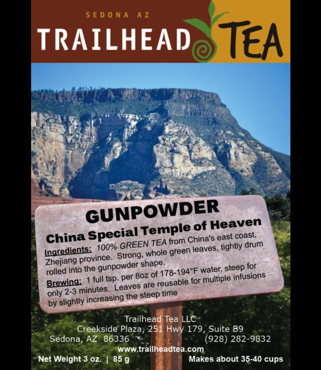 Tea from China Gunpowder Temple of Heaven