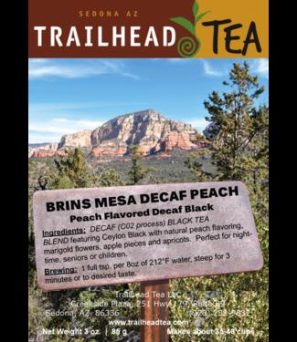 Tea from Sri Lanka Brins Mesa Decaf Peach