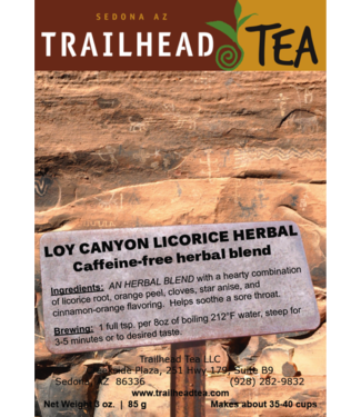 Herbal Blends Loy Canyon Licorice Herbal