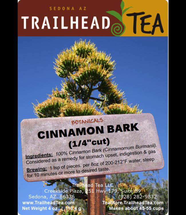 "Botanical Botanical Organic Cinnamon Bark 1/4"" pieces"
