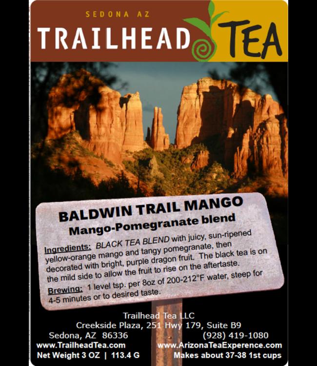 Tea from China Baldwin Trail Mango Pomegranate