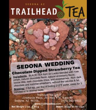 Tea from Sri Lanka Sedona Wedding