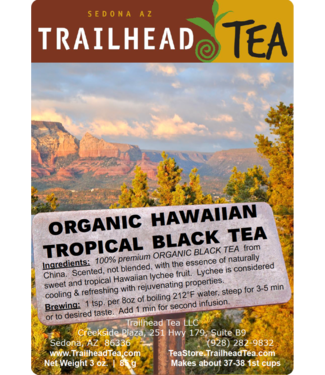 Tea from China Organic Hawaiian Tropical Black