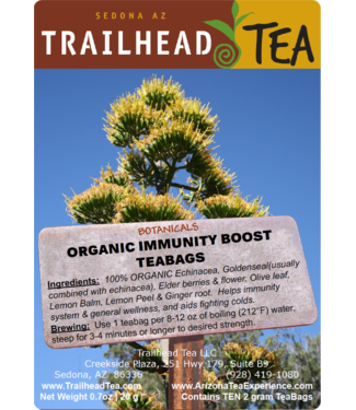 Herbal Blends Botanical Organic Immunity Boost