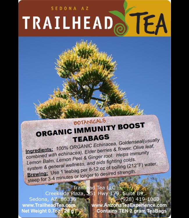 Herbal Blends Botanical Organic Immunity Boost