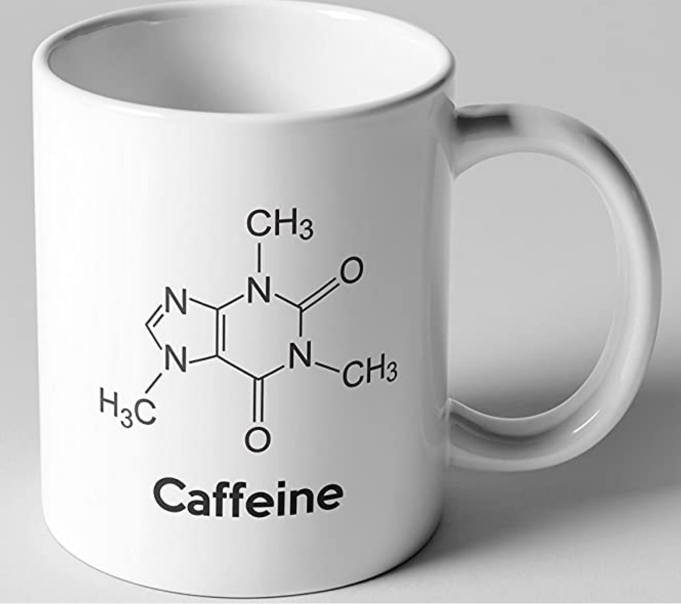 What are the typical caffeine levels found in tea?
