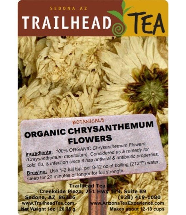 Botanical Botanical Organic Chrysanthemum Flower