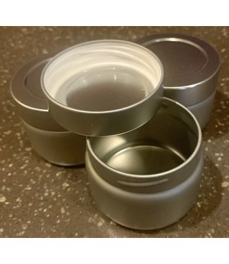 Teaware 1oz Tin Container w/twist lid