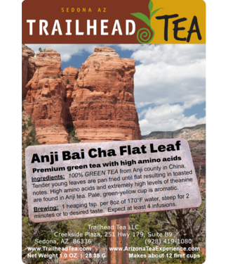 Off-Trail-Rare Anji Flat Leaf (AnJi BaiCha Off-Trail Green)