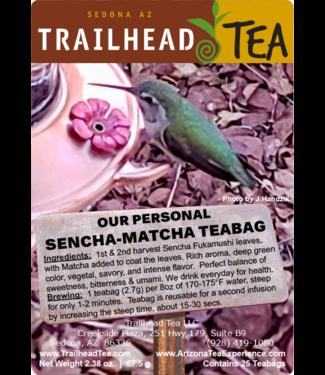 Tea from Japan Our Personal Sencha-Matcha Green Teabag
