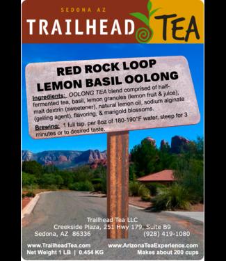 Tea from Taiwan Red Rock Loop Lemon/Basil Oolong