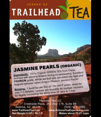 Tea from China Dragon Phoenix Jasmine Pearls, Organic Premium