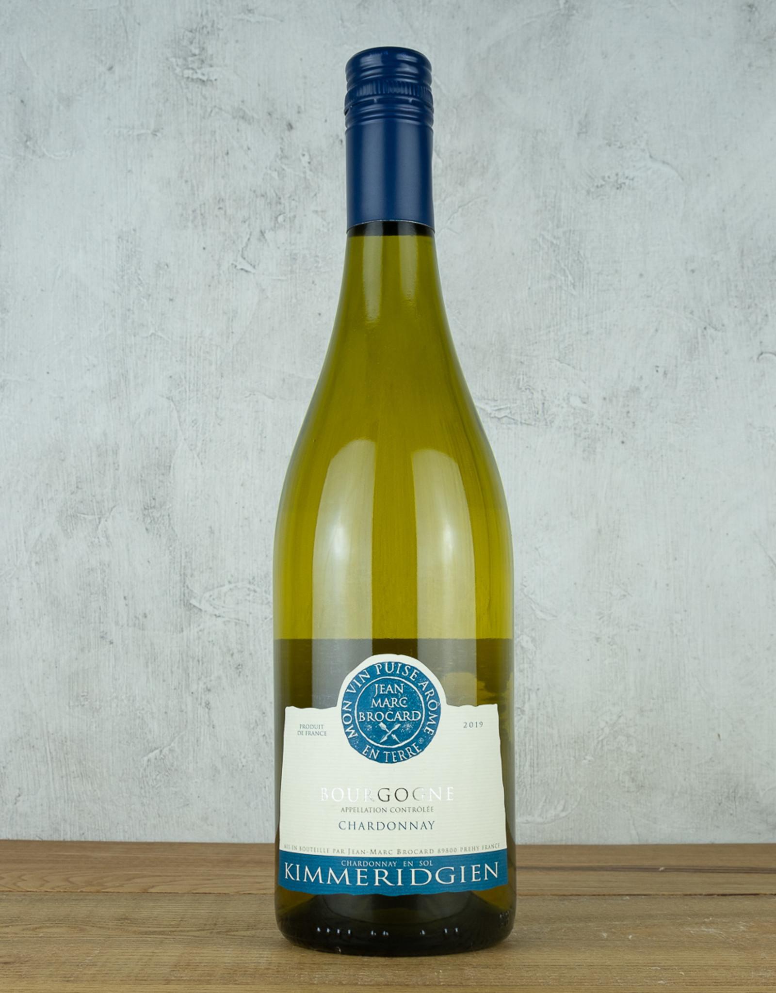 Jean Marc Brocard Kimmeridgien Bourgogne Blanc