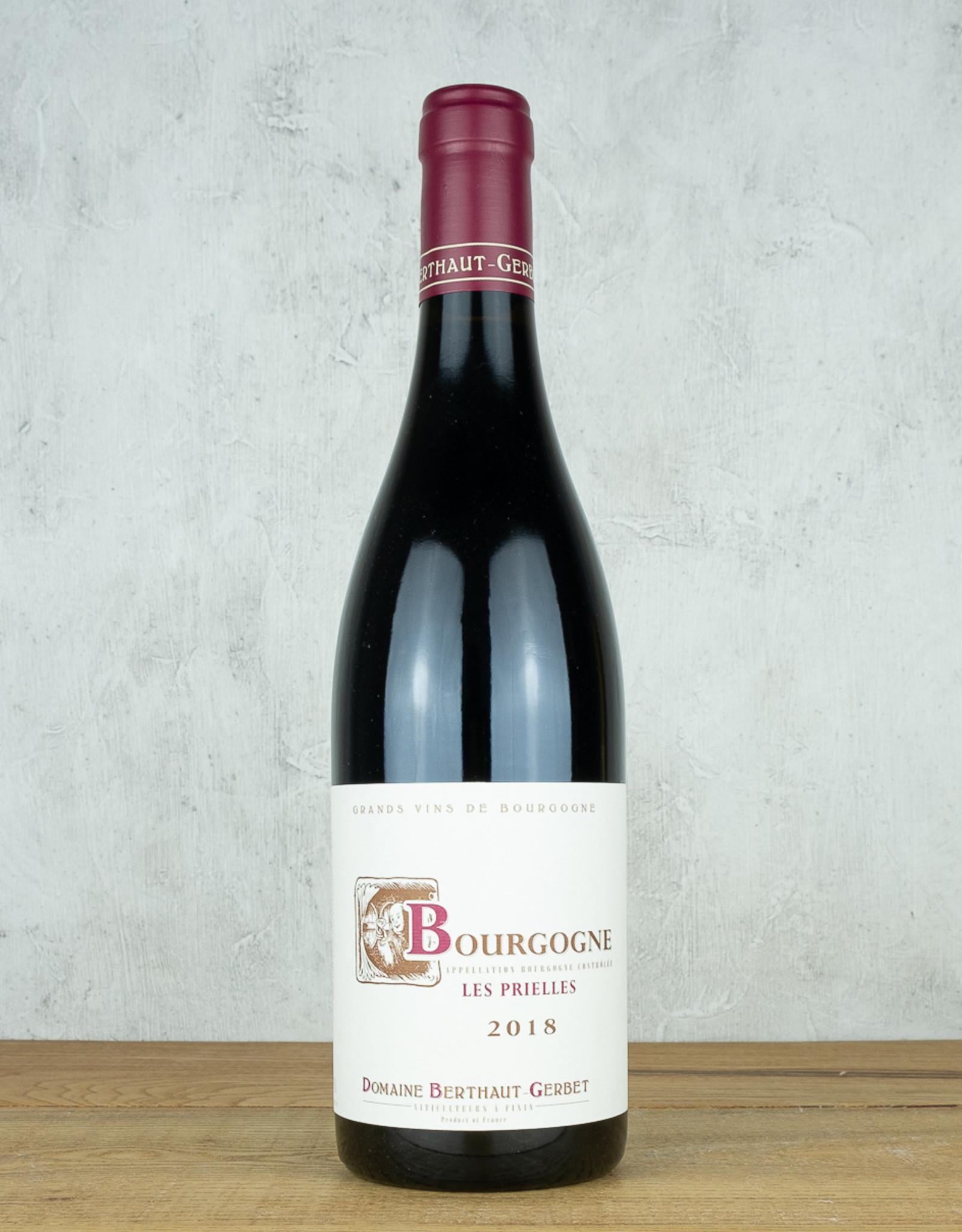 Domaine Berthaut-Gerbet Bourgogne Les Prielles