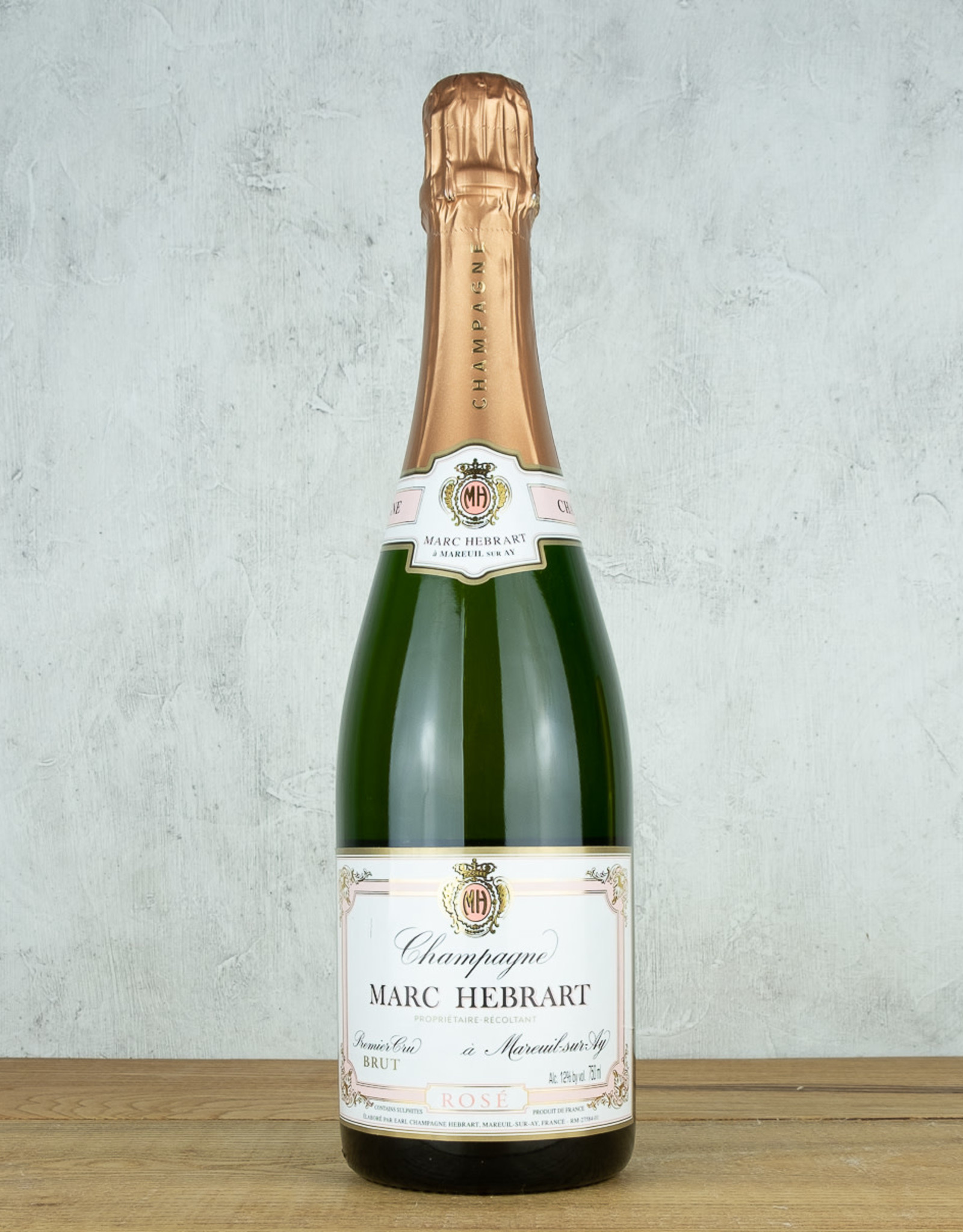 Champagne Marc Hebrart Brut Rose