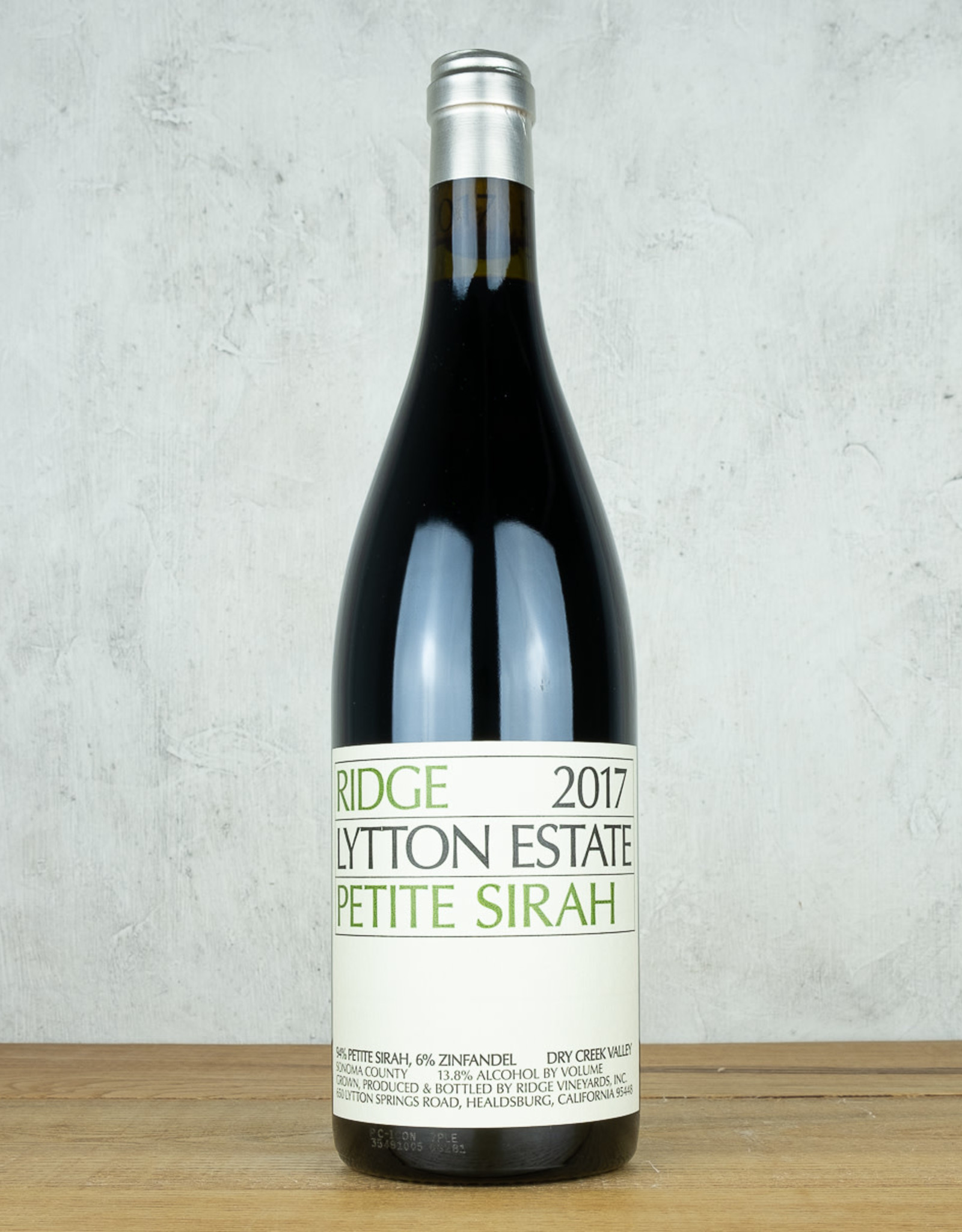 Ridge Lytton Estate Petite Sirah