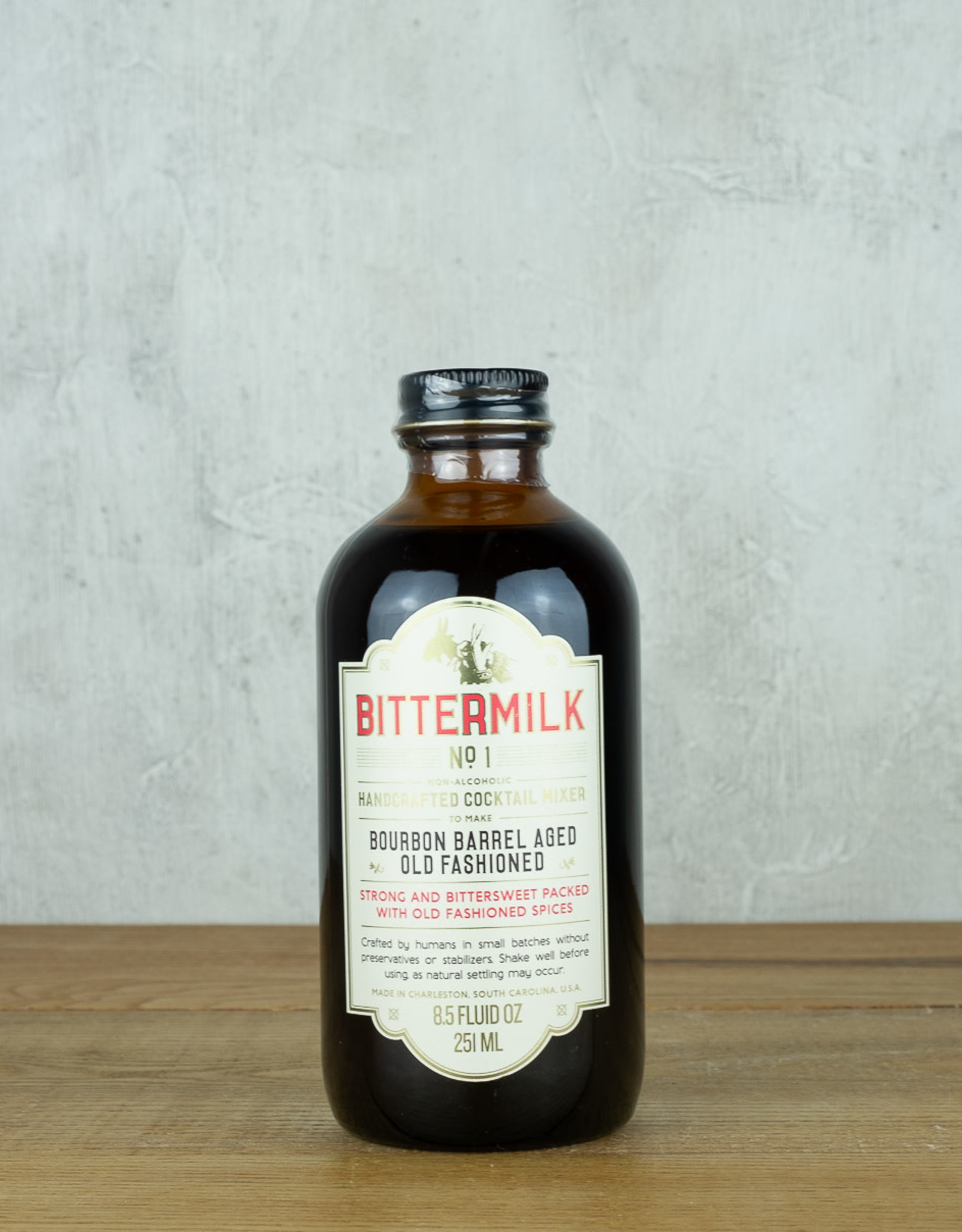 Bittermilk Bourbon Barrel Aged Old Fashioned