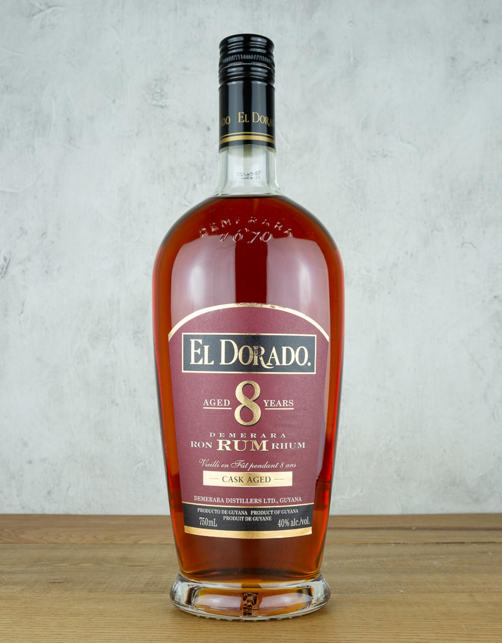 El Dorado Rum 8 Yr