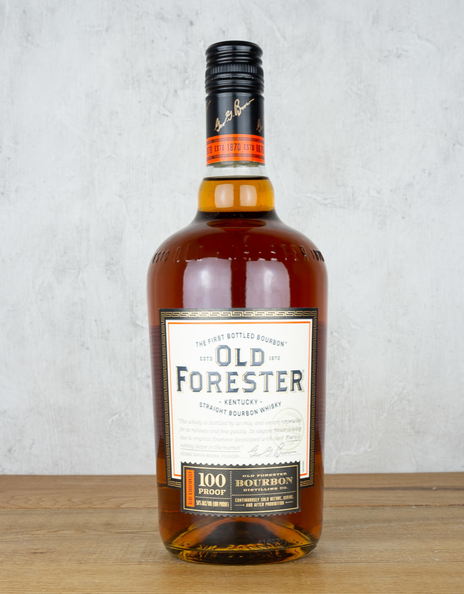 Old Forester Signature 100
