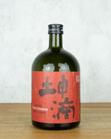 Konteki Junmai Daiginjo Sake Pearls of Simplicity