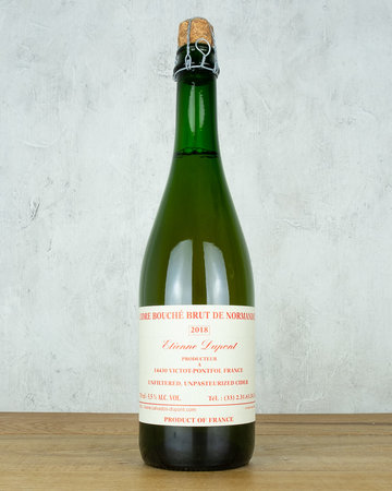 Etienne Dupont Cidre Bouché Brut Normandie Single 750ml