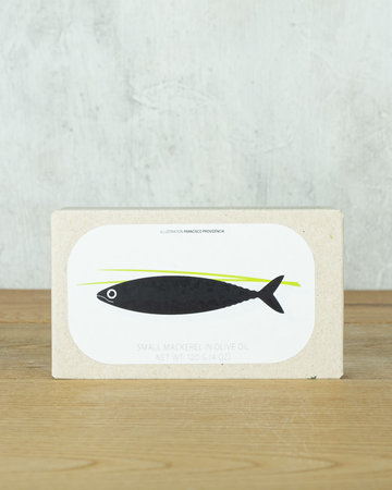 Jose Gourmet Small Mackerel in Olive Oil