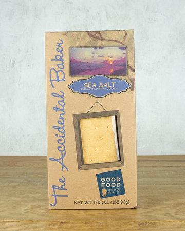 The Accidental Baker Sea Salt Crackers