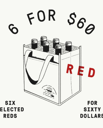6 for 60 ALL RED