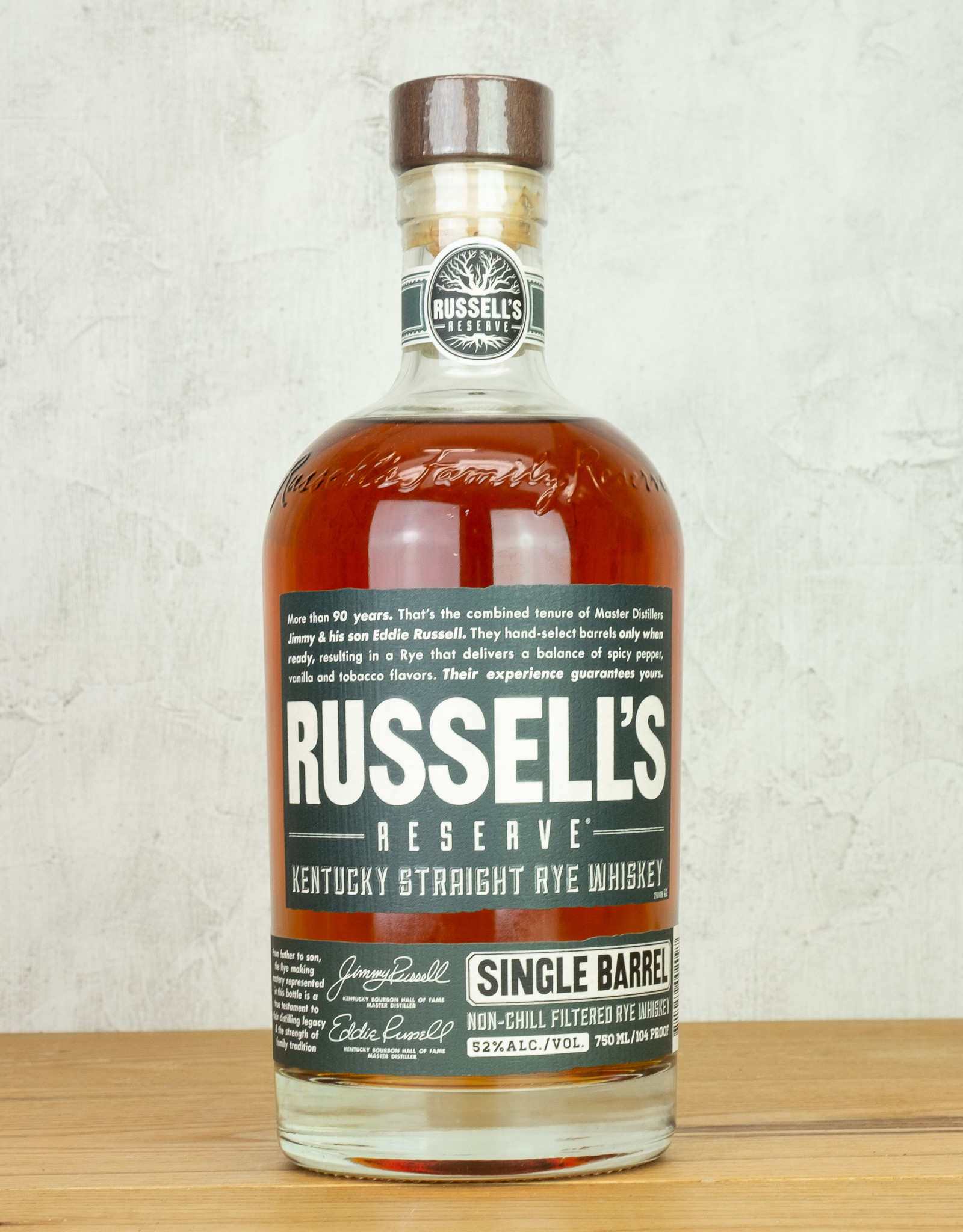 Russell's Reserve Rye Single Barrel