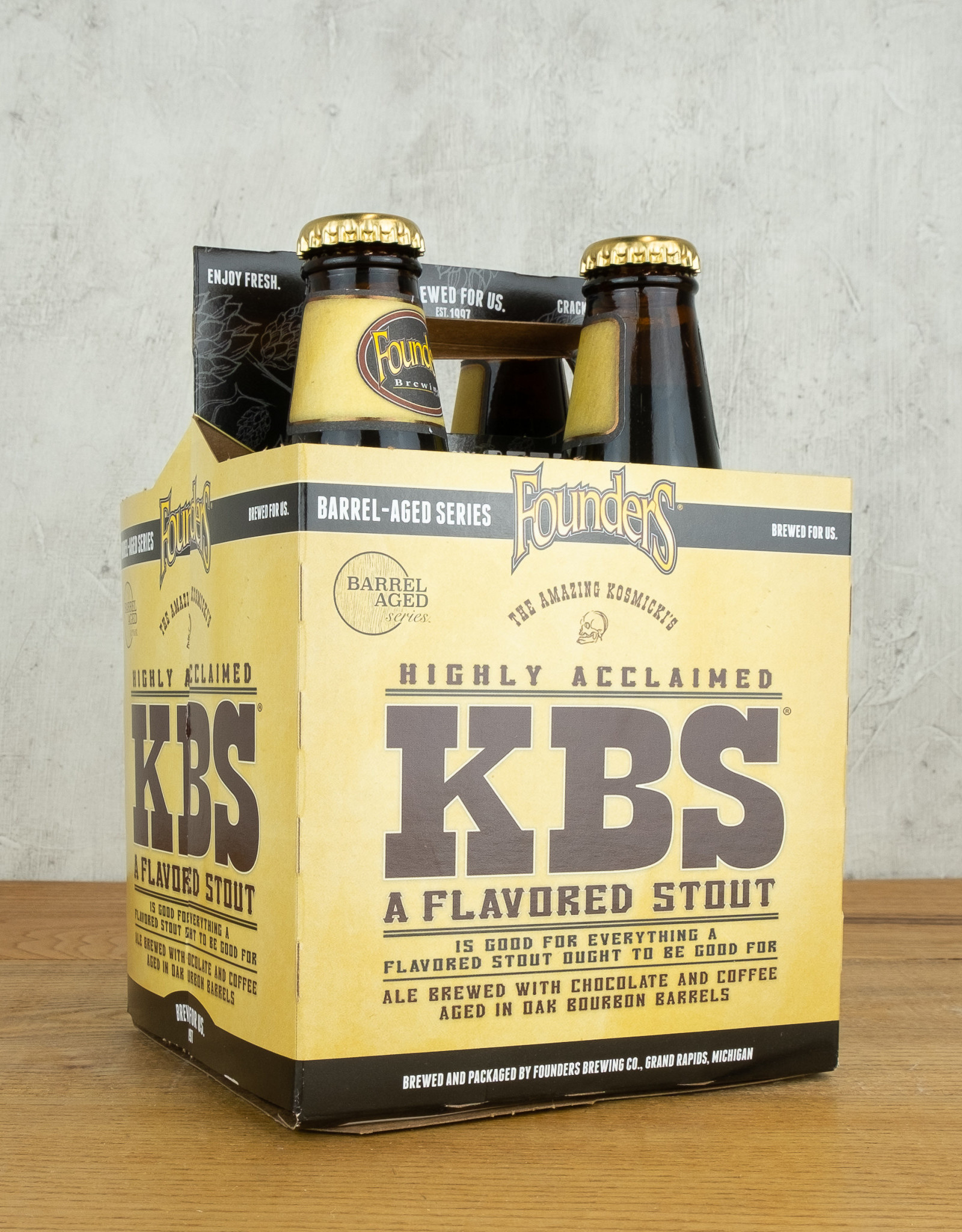Founders KBS Stout 4pk