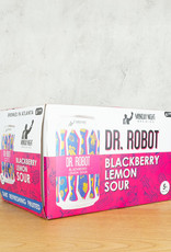 Monday Night Brewing Dr. Robot Blackberry Lemon Sour 6pk