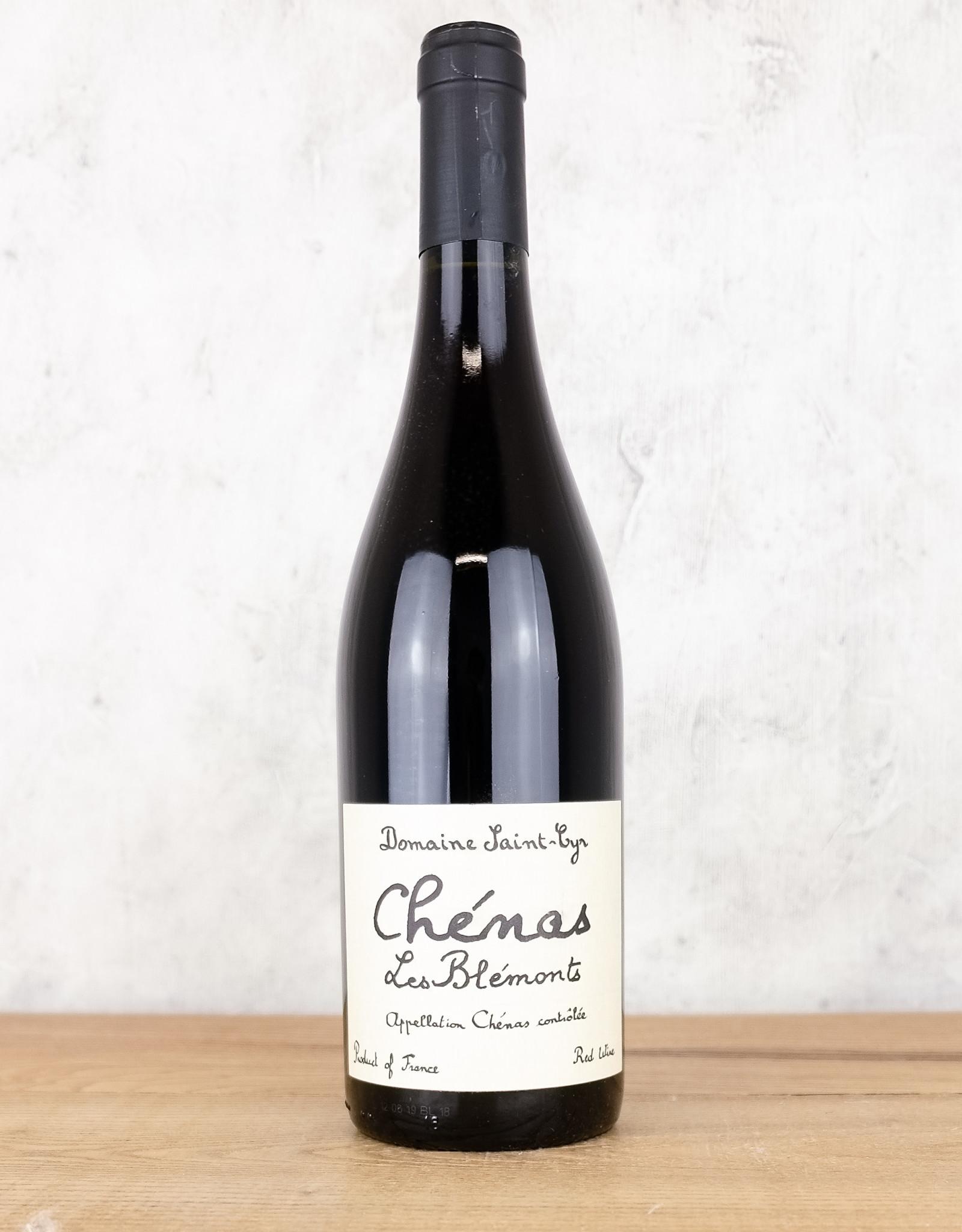 Domaine Saint Cyr Chenas Les Belmonts