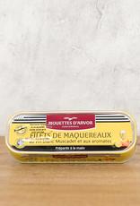 Les Mouettes d'Arvor Mackerel Filetts in Muscadet